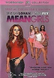 Mean Girls (DVD, 2004)*R4*Terrific Condition*Lindsay Lohan