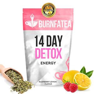 BURNFATEA - 14 DAY WORKOUT ENERGY DETOX TEATOX (Weight Loss, Energy Tea)