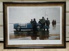 Pendine Beach by Jack Vettriano Large Deluxe Framed Art Print 78x58cm
