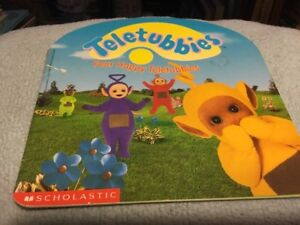 Four Happy Teletubbies by Inc. Staff Scholastic (1998, Paperback)