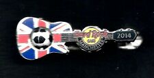 Hard Rock Europe Soccer Flag Series MANCHESTER 2014 Silver Base Prototype Pin P3