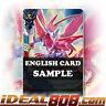 Buddyfight x 4 Pink Crystal Dragon, Tarvel [X-BT01A-CP02/0044EN C] English Mint