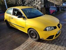 2006 SEAT IBIZA MK4 1.4 TDI BNV, YELLOW LS1A, 5 SPEED, 3DR, WHEEL NUT, BREAKING