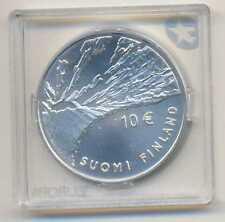 Finland Johan Vilhelm Snellman Silver 10 Euro 2006 BU