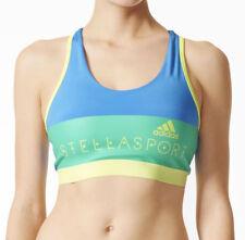 adidas StellaSport Graphic Womens Sports Bra - Blue