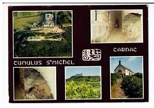 Postcard: Multiview - Tumulus St Michel, Carnac, France