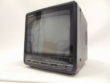 "Vintage Memorex Portavision 9"" 16-244 Color TV/Monitor WORKS!"