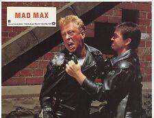 MEL GIBSON STEVE BISLEY GEORGE MILLER  MAD MAX 1979 VINTAGE LOBBY CARD #3