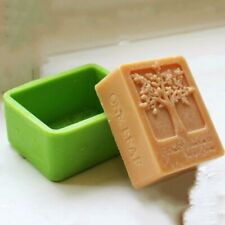 Life Tree Rectangle Silicone Soap Mold Craft Molds DIY Handmade Soap Mould