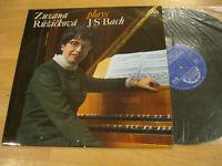LP Zuzana Ruzickova plays J.S. Bach Vinyl Supraphon CSSR 1 11 0750
