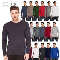 NEW  Bella + Canvas Men's Jersey Long-Sleeve S-2XL T-Shirt M-3501