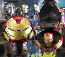 King Arts Avengers Age of Ultron 1/5 HULKBUSTER & IRONMAN MARK 43 HELMET LED