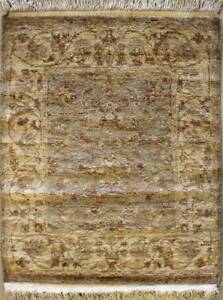 Rugstc 2x3 Senneh Chobi Ziegler Grey Area Rug,Natural dye, Hand-Knotted,Wool