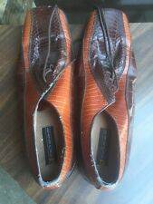 Stacey Adams Men's Snake Skin & Leather Dress Shoes Vintage