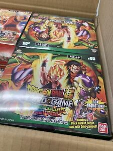 Dragon Ball Super CCG Miraculous Revival Series 5 Booster Box Sealed