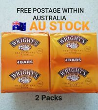 Wright's Traditional Coal Tar Soap Pack of 4