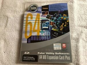 BRAND NEW!!! -  Palm (PDA) Utility Software 64MB Expansion Card Plus - #P10845U