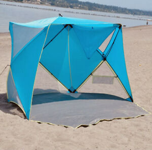 Old Bahama Bay Beach Shelter - Easy Assembly, No Tools Required