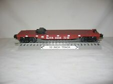 Lionel 26690 New Jersey NJTR #9906 Flatcar with Trailer Blocks 2012