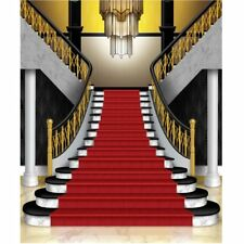 Grand Staircase Insta Wall Mural Photo Backdrop Red Carpet Awards VIP Party