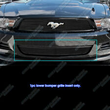 Fits 2010-2012 Ford Mustang Black Bumper Billet Grille Insert for V6 Only