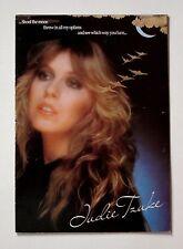 Judie Tzuke 'Shoot The Moon' 1982 UK tour programme - genuine vintage merch!