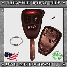 New Remote Key Replacement Case Shell + 4 Button Chrysler Dodge Jeep M3N5WY72XX