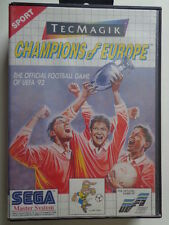 Master System-Champions of Europe (con embalaje original) 10633021