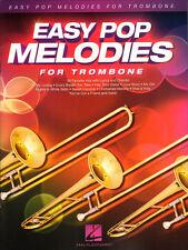 Easy Pop Melodies for Trombone 50 Titel Noten für Posaune mit Akkordsymbolen
