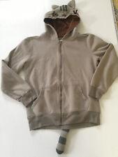 Pusheen Cat Unisex Full Zip Hoodie Sweatshirt With Tail  Ears Size M Medium