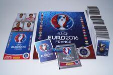 PANINI EURO 2016 FRANCIA 16-SWISS STAR EDITION COMPL. Set + 84 AGGIORNAMENTI + ALBUM