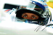 Valtteri BOTTAS SIGNED Williams F1 Autograph 12x8 Close-Up Photo AFTAL COA