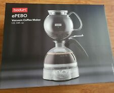 Bodum ePEBO Electric Vacuum Coffee Maker, 1.0 L - Clear
