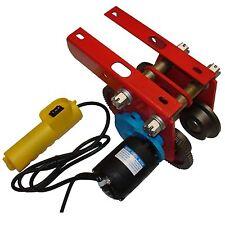 CROSSFER Fahrwerk elektrisch 230V für Seilwinde bis 500kg Laufkatze für Seilzug