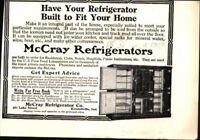1912 McCray Refrigerators Kendallville, IN Vintage Print Ad 723