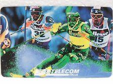 SCHEDA G 590- CAMPIONATI MONDIALI DI SCI-SESTRIERE 1997 -30/06/99-L. 15.000-MAN
