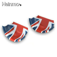 Red Union Jack Interior Door Handle Cover For MINI Cooper F54 F55 F56 Hatchback