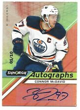 20-21 2020-21 Synergy Connor McDavid RARE AUTO #A-MC Only 10 Exist-Numbered 1/10