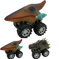 Children's Day Gift Toy Dinosaur Model Mini Toy Car Back Of The Car Gift US