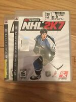 2K SPORTS NHL 2K7 - PS3 - COMPLETE W/MANUAL - FREE S/H (S)