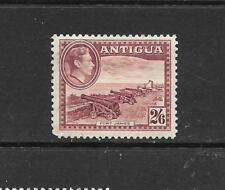 1938 King George VI SG106  2s.6d. Brown & Purple Mint Hinged ANTIGUA