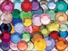 Mixed Colors Swarovski Flatback Rhinestones 5ss 7ss 9ss 12ss 16ss 20ss 144 pcs