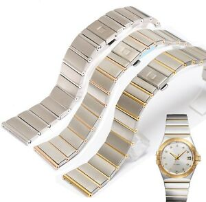316L Solid St/ Steel FITS Omega constellation 23mm 25mm 18mm bracelet strap band