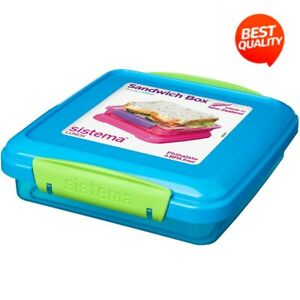 Sistema Lunch Sandwich Box, 450 ml - Assorted Colours