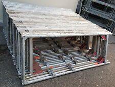 Alu Gerüst Layher Assco ca. 100m² gebrauchtes Gerüst mit 3,07 Robustböden