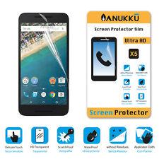 3x PELLICOLA per LG Nexus 5X FRONTE + PANNO PROTETTIVA DISPLAY