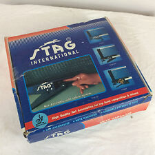 NOS Vintage 80s Stag Table Tennis Ping Pong Net Post Set