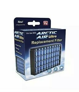 Arctic Air Ultra Replacement Filter AAUF MC12 Ontel Anti Microbial Coating AC