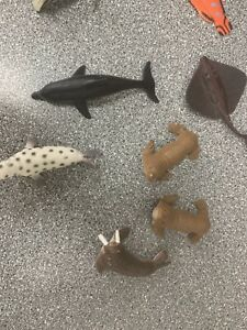 Selection Of Small Plastic Sea Creatures - Great Small World