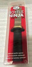 Fred Bottle Ninja, Samurai Sword Bottle Opener, Brand New